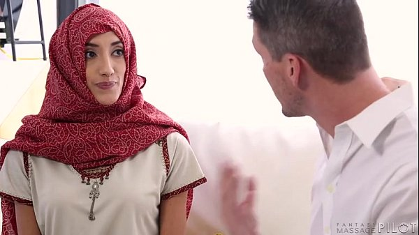 Hot Young Arabic Daughter Getting Deep Tissue Massage